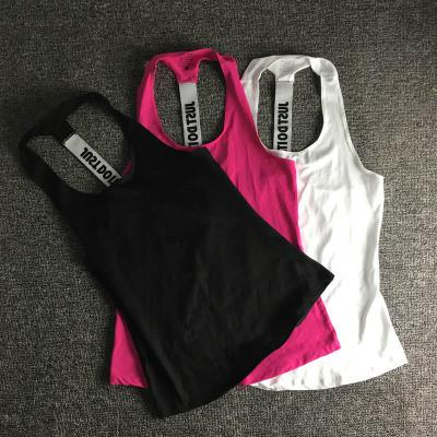 Fashion Women Gym Sports Sleeveless Running Loose Vest Tank Top Cami OM161128